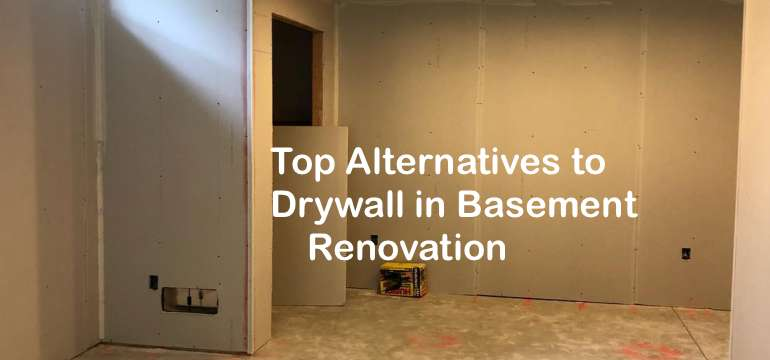 Top Alternatives To Drywall In Basement Renovation