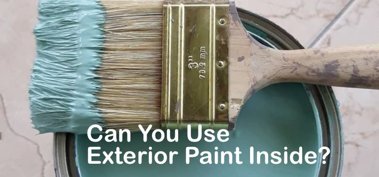 Can you use exterior paint inside - Can you use exterior primer inside ...