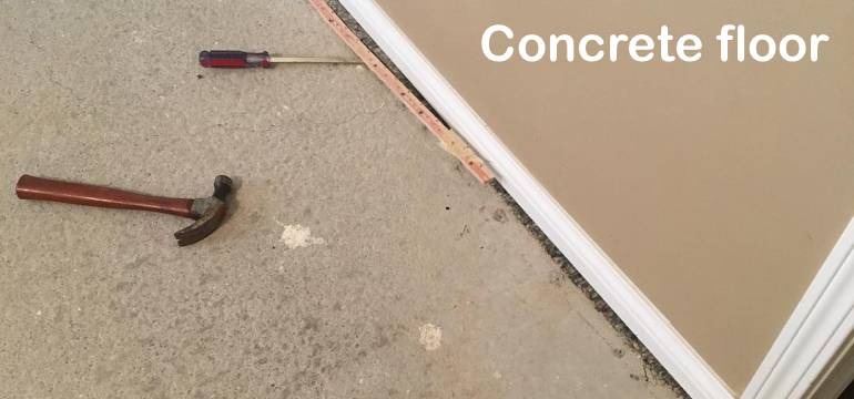 Tack Strips From Hardwood Floor Or Concrete