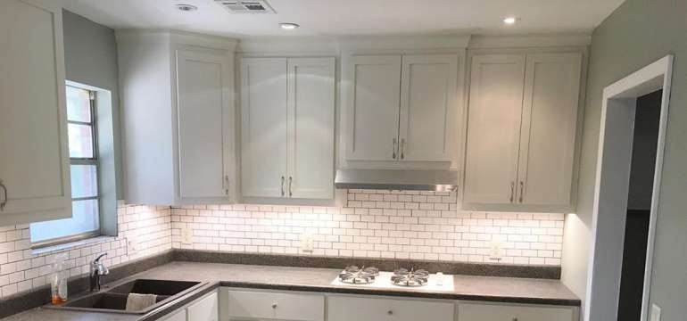 How Far Should Recessed Lights Be From Cabinets