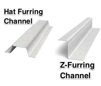 Furring strip measurement