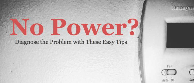 Groovy No Power To Thermostat Diagnose The Problem With These Easy Tips Wiring Digital Resources Ommitdefiancerspsorg