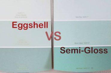 H2ouse home - Eggshell vs semi gloss ...