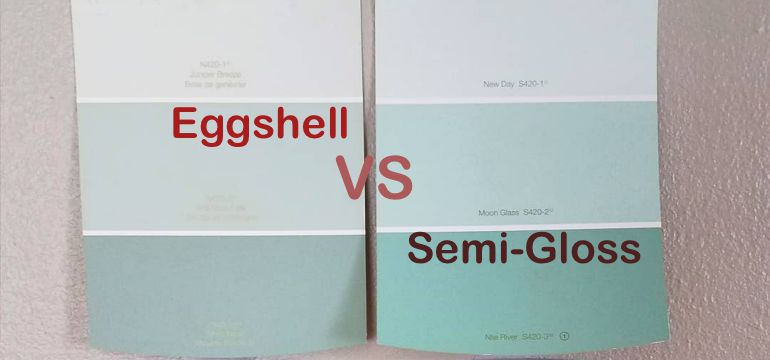 Eggshell paint vs semi gloss paint how do you choose - What is satin paint ...