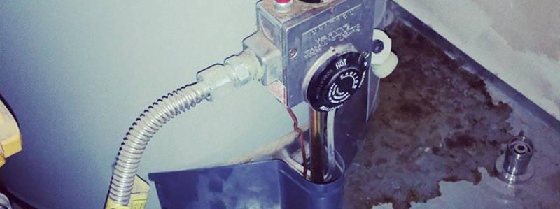 leaky water heater